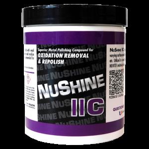 NuShine IIC - Metal Polish for Oxidation Removal and Repolish