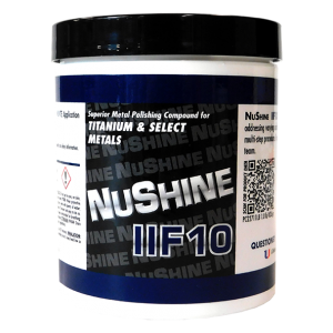 NuShine llF10 - Metal Polish for Titanium and Select Metals