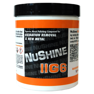 NuShine llG6 - Metal Polish for Oxidation removal and scratch repair