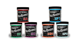 NUSHINE II - GRADED SYSTEM OF POLISHING COMPOUNDS FOR METAL SURFACES