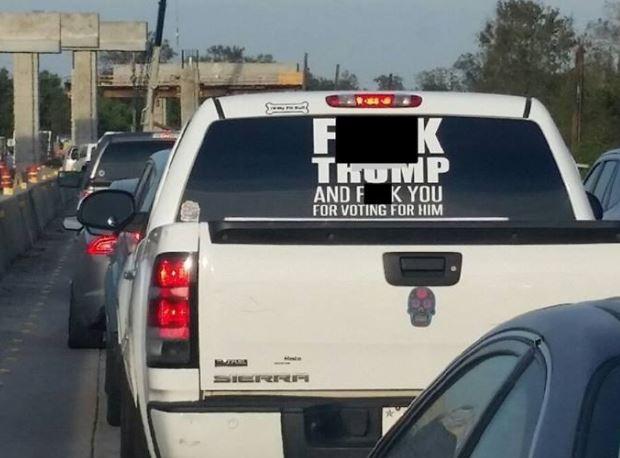 trump sticker