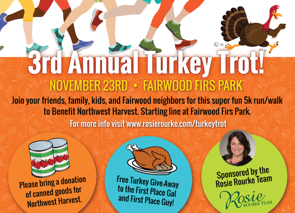 Turkey Trot 5k run in Fairwood