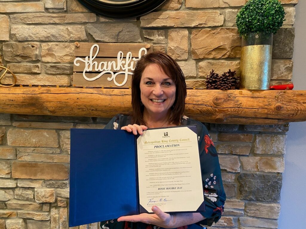 Rosie Rourke Day in King County