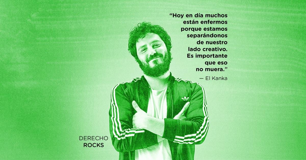 El Kanka - Derecho Rocks - Entrevista