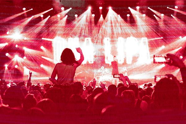 11 niveles de un concierto