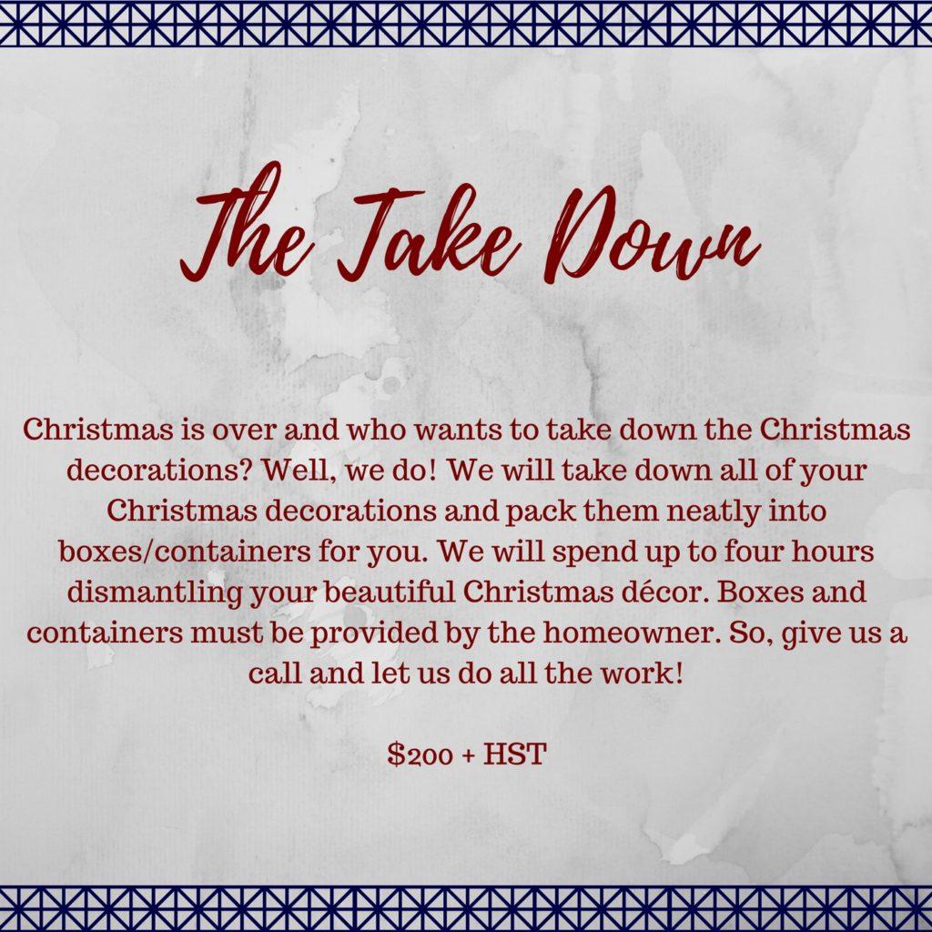 | The Take Down |