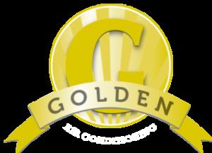 Golden Mechanical Logo