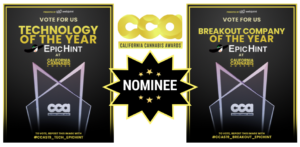 EpicHint California Cannabis Awards Technology of the Year and Breakout Company of the Year
