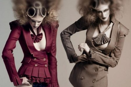 Avant Garde Fashion, Colombian Fashion Blogs, British Designers, Victorian Trends