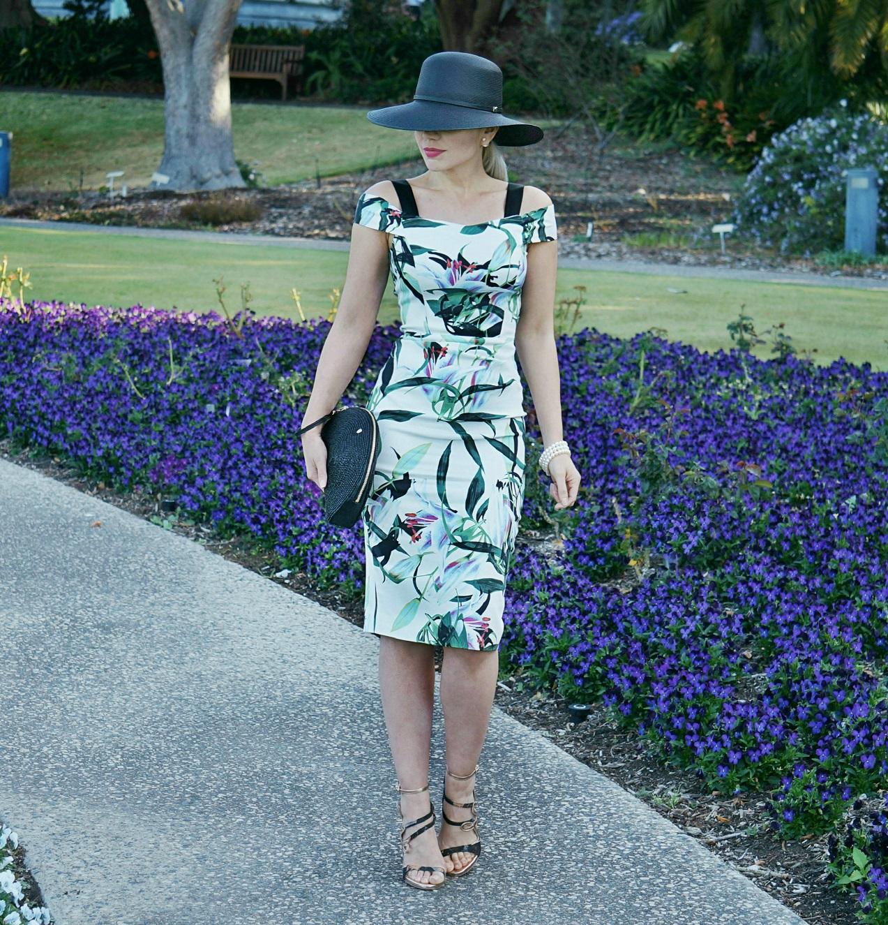 Spring racing fashion