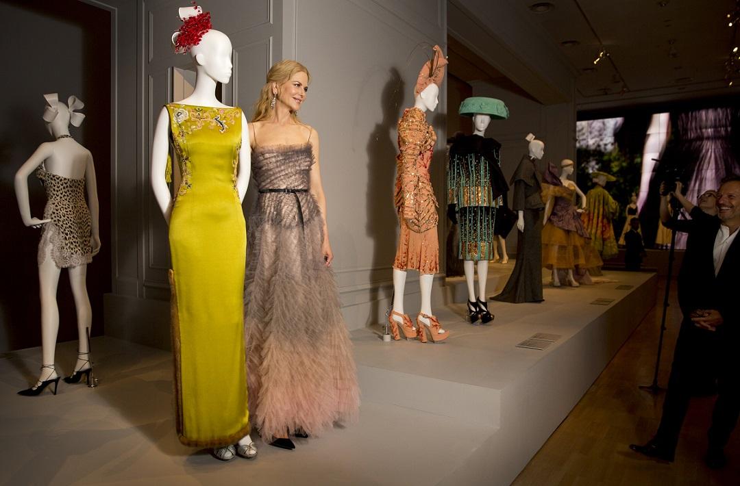 Nicole Kidman Dior Gala Melbourne