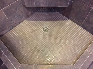 Tile/Grout Cleaning Before