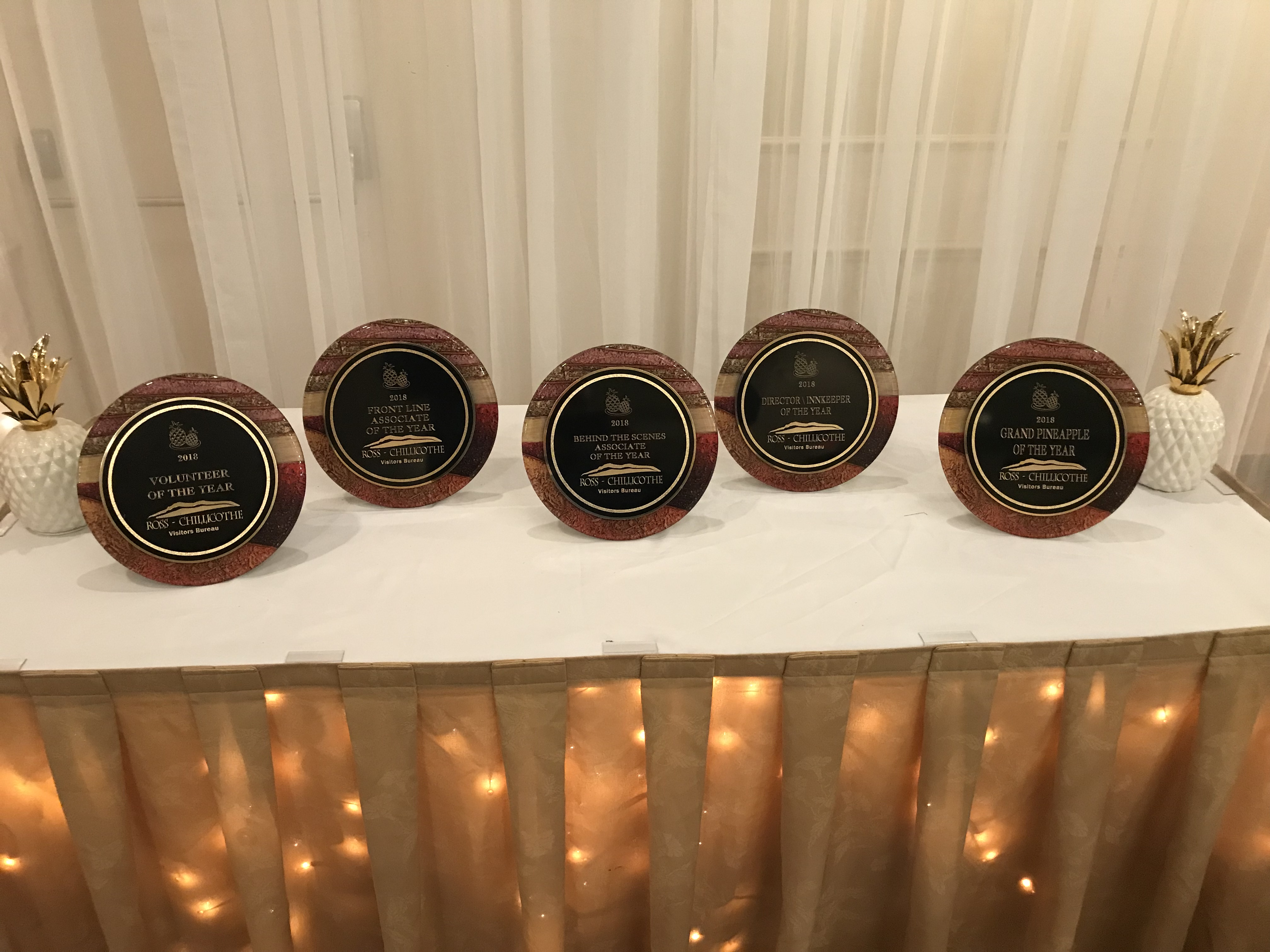 Ross County Tourism Banquet 2018