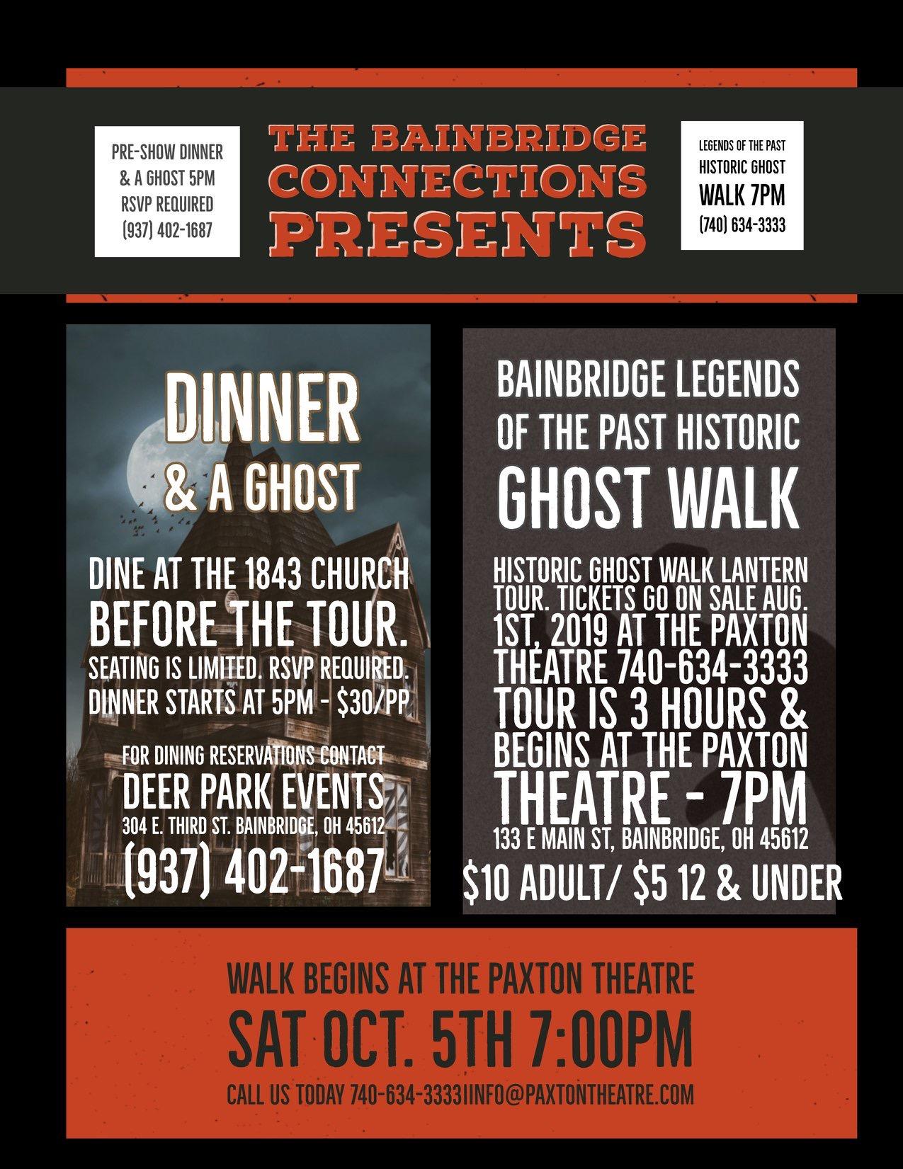 Dinner & A Ghost