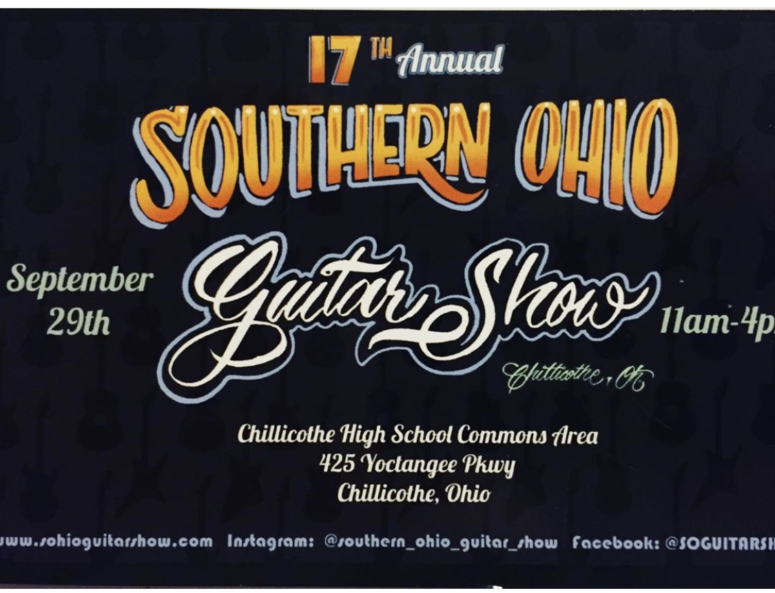 Southern Ohio Guitar Show
