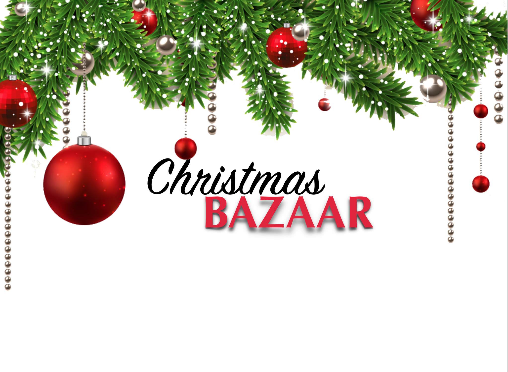 Christmas Bazaar and bake sale