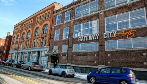 Gateway City Arts is shown Jan. 19, 2018 in Holyoke.