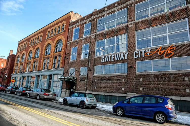 Gateway City Arts is shown Jan. 19, 2018 in Holyoke.