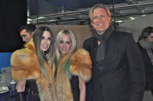 Jack Ray with Pamela Skaist-Levy & Gela Nash-Taylor