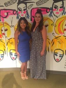 Stylists Katie and Libby at Bbu