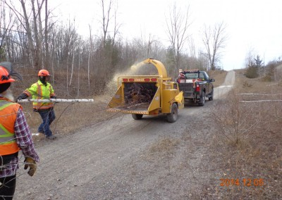 Brush Chipper Safety in Napanee Ontario
