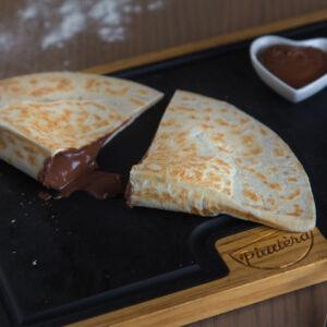 Calzone Nutella open