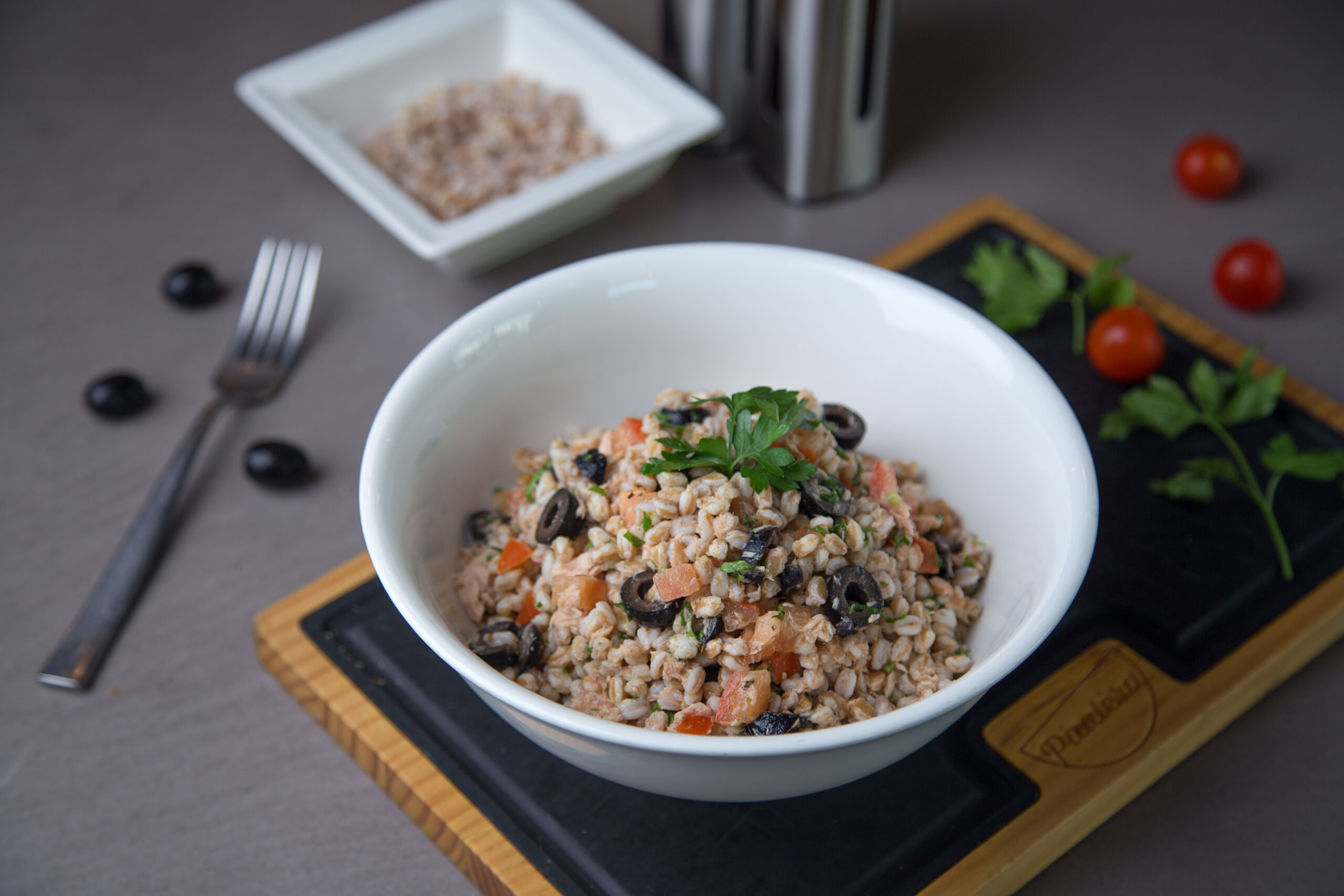 Tuna Barley Salad