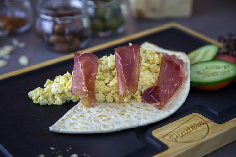 Egg and Speck Piada