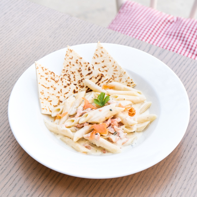 piadera Penne-al-Salmone our menu