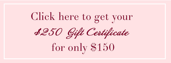 Buy Your Gift Certificate