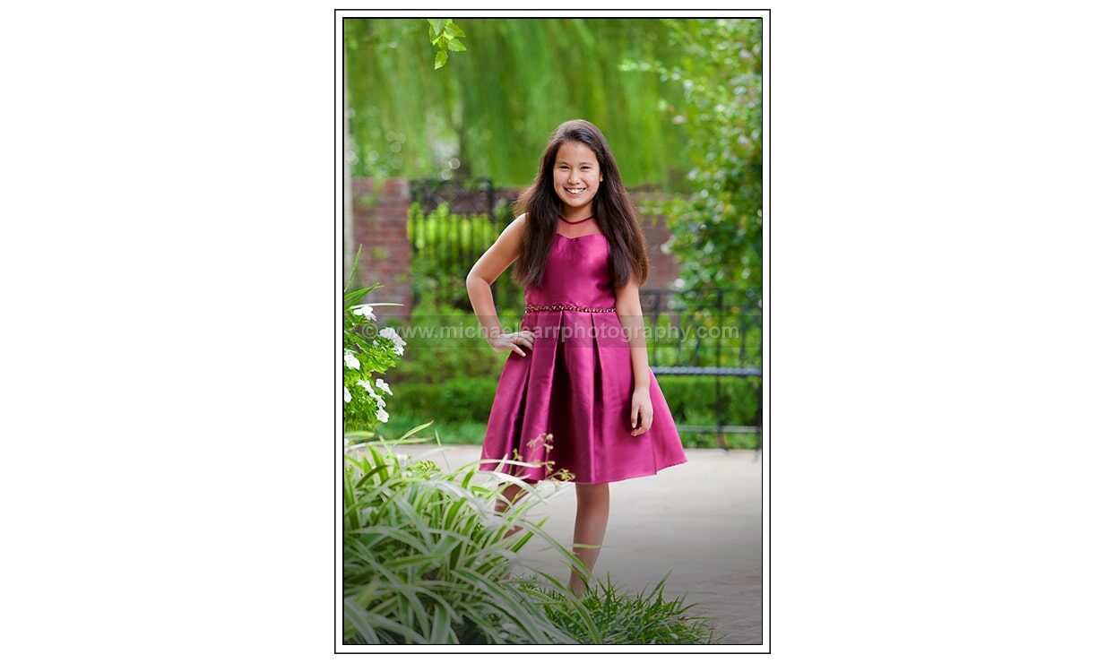 Formal Outdoor Children Photography