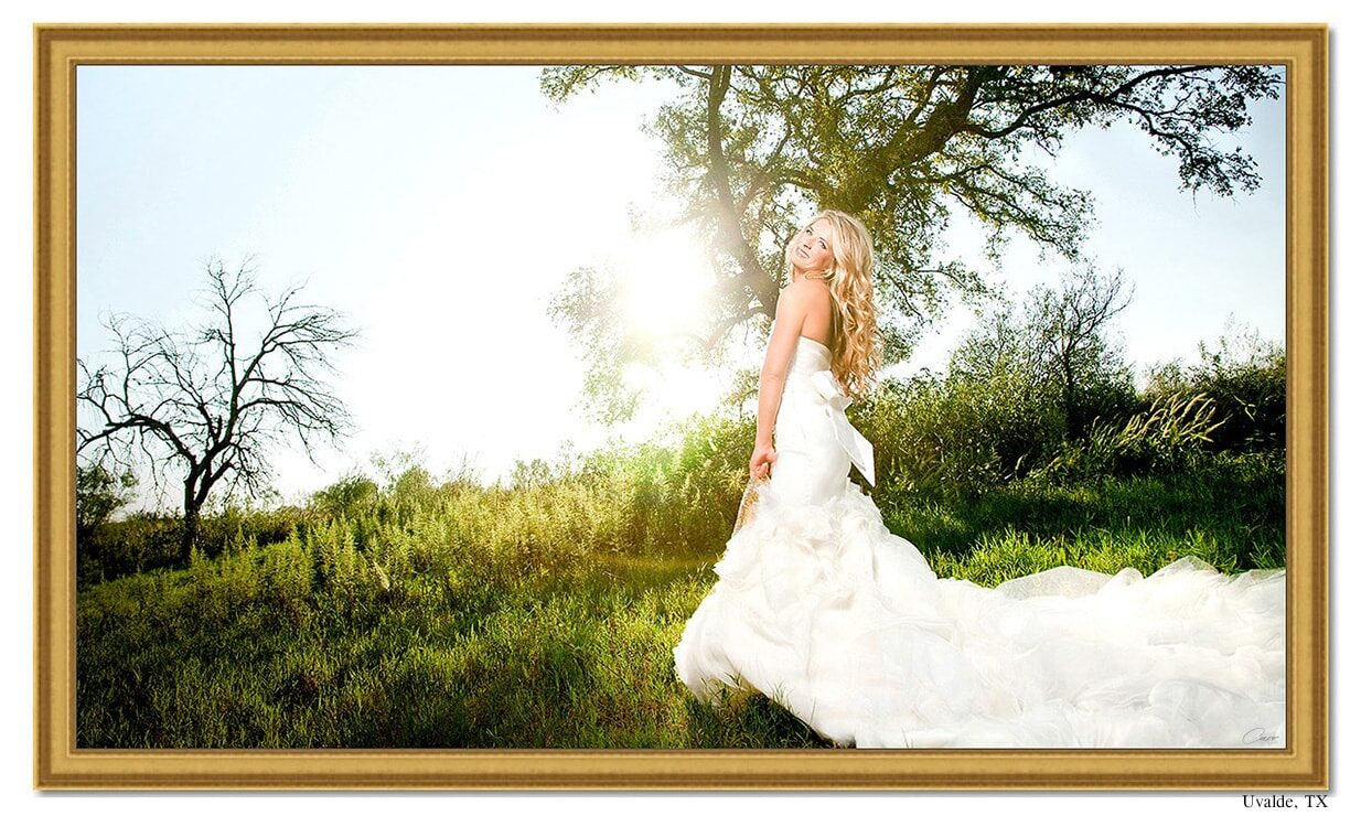 Bridal Portraits at Texas ranch