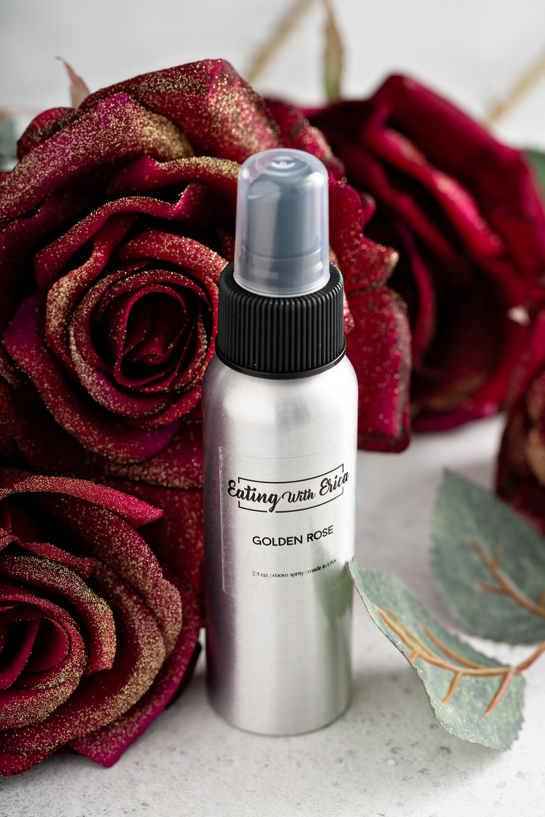 Golden Rose Rose Spray