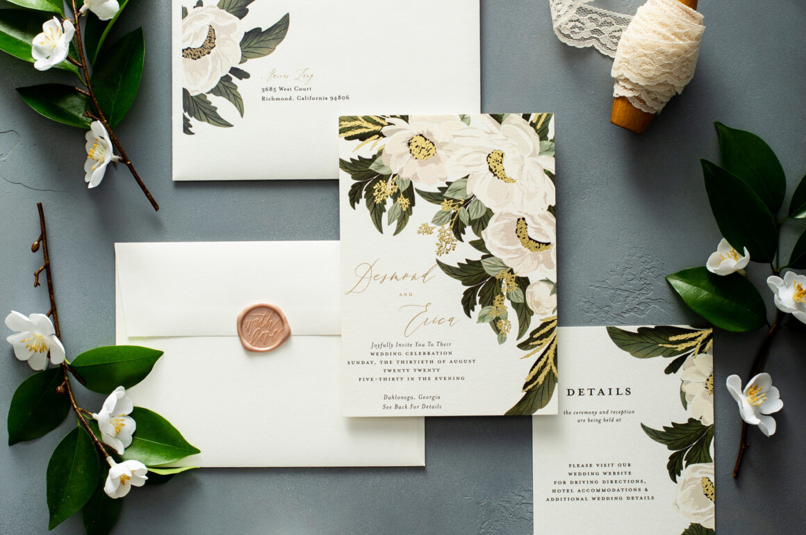 My Minted Wedding Invitations - Eating With Erica