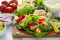 Recipe:​ Pace®​ Chicken Lettuce Wraps