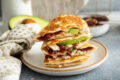 Recipe: Turkey, Cranberry, Brie Quesadilla