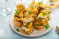 Recipe: U.S. Farm-Raised Catfish Bites with Pimiento Cheese and Fried Green Tomatoes