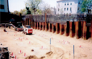 Elder Services in Lynn, MA - commercial project using new helical construction piles