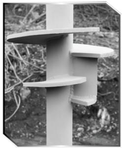 Drivecast (TM) Displacement Pile