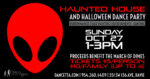 Halloween Dance Party & Alien Haunted House