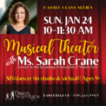 "Musical Theater with Ms. Sarah Crane of ""Mean Girls"""