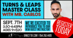 Turns & Leaps Master Class with Carlos