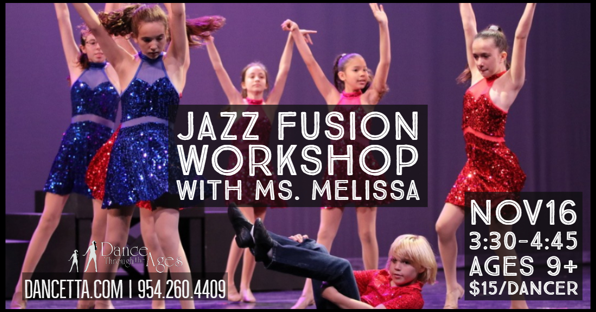 Jazz Fusion Master Class with Ms. Melissa