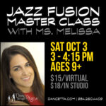 Jazz Master Class with Ms. Melissa