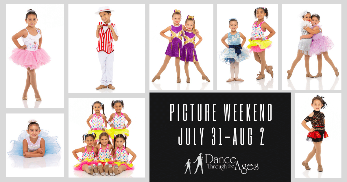 """Picture Weekend is Now July 31 – Aug 2, """"Under The Big Top"""""""