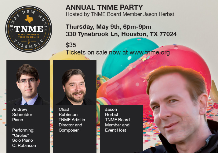 Tickets to the TNME Party Now on Sale!