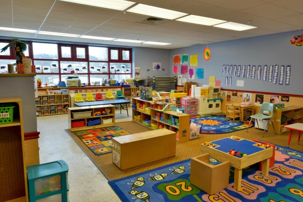 Preschool Classroom at Providence Connections