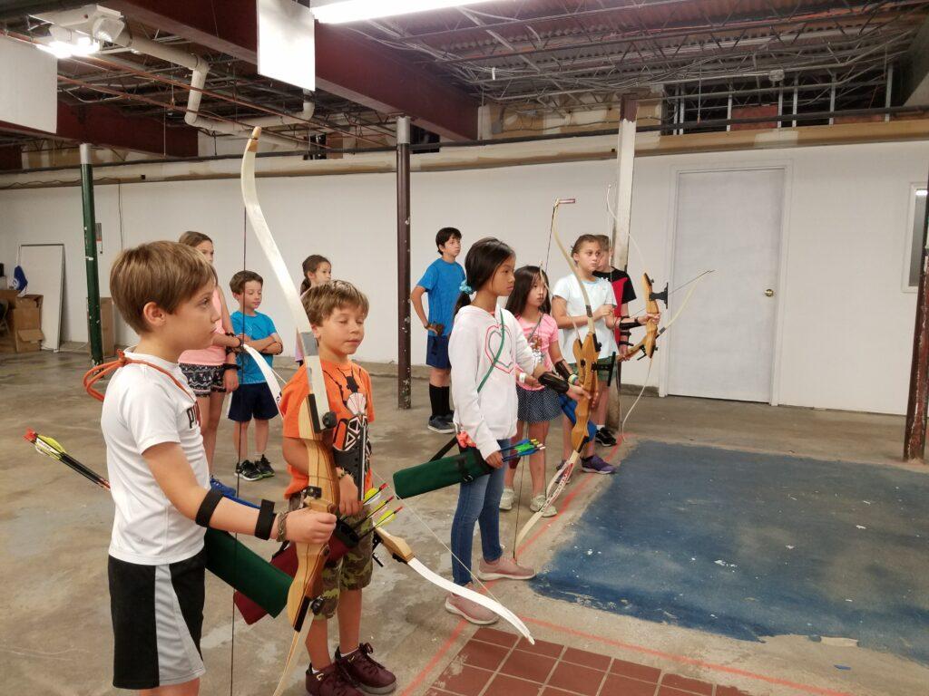 Archery indoors