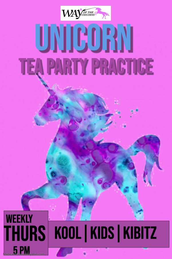 Copy of unicorn party - Made with PosterMyWall (1)