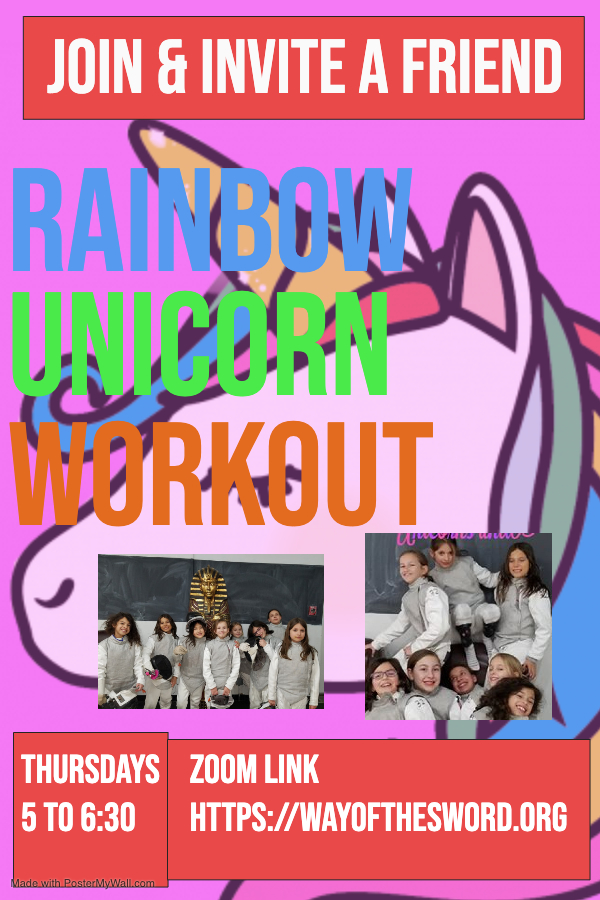Copy of UNICORN WORKSHOP - Made with PosterMyWall